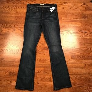 NWT GAP jeans 31x34 long baby boot